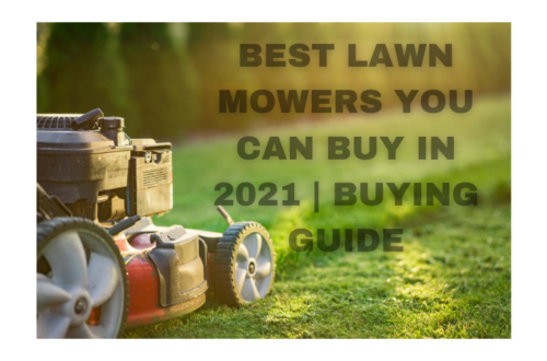 Best Lawn Mower You Can Buy in 2021   Buying Guide