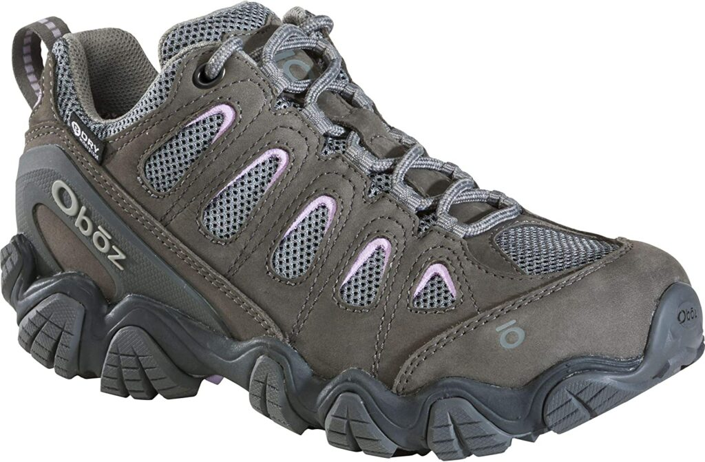 Oboz Sawtooth II Low B-Dry Hiking Boots for Women
